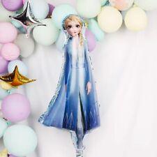 Large Frozen Elsa Figure Balloon Double Sided Foil