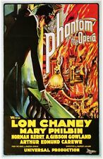 THE PHANTOM OF THE OPERA Movie POSTER 11x17 E Lon Chaney Sr. Norman Kerry Mary