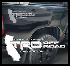 "TOYOTA TACOMA TRD OFF ROAD DECALS STICKERS CALI EDITION (2) 20""X9"" DECALS"