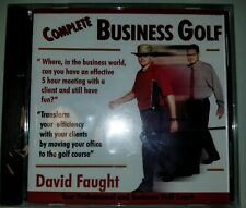 Complete Business Golf David Faught Tour Professional & Business Golf Coach Cd
