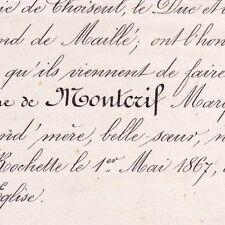 Marie Elisabeth Joséphine De Montcrif Dugon La Rochette 1867