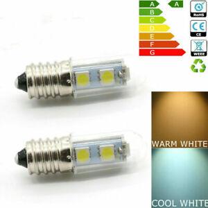 E14 1,5W Stiftsockel LED Leuchtmittel Birne Lampe Warmweiß Weiß