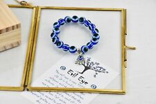Turkish Evil Eye Bracelet Hamsa Hand Greek Mati Bangle Jewellery for Adults