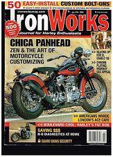 IRON WORKS JAN-FEB 2008 '21 INDIAN SCOUT CUSTOM BIG BIKE STREET CHICA CHOPPERS