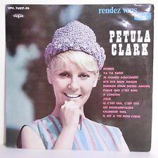 """33T Petula CLARK Disque Vinyle LP 12"""" RENDEZ VOUS.. -YA YA TWIST -VOGUE 76017-30"""