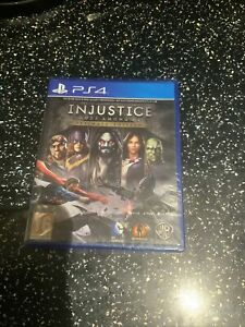 PLAYSTATION 4 PS4 GAME Injustice Gods Among Us Ultimate Edition NEW & SEALED