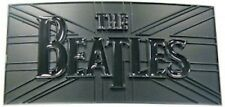 BEATLES Black on Black Metal BAND / GROUP LOGO Belt Buckle BRAND NEW !!!