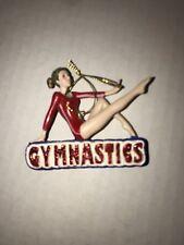Christmas Holiday Hanging Ornament Gymnastics Girl Gymnast