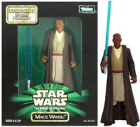 Star Wars Power of the Force Jedi MACE WINDU Sneak Preview Figure POTF2 MIB NEW
