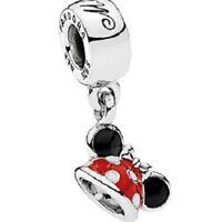 NEU✨ PANDORA 100% Original  DISNEY Parks  ✨  Minnie Ear Hat  ✨  Charm