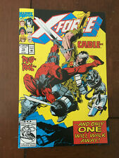 X-FORCE # 15 VF/NM MARVEL COMICS DEADPOL VS CABLE