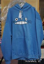 Hoodie Blue Totoro  grin (new) XXL