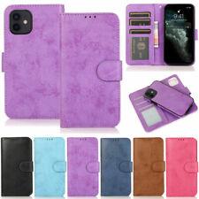 Detachable Wallet Leather Flip Cover Case For iPhone 12Pro 11 XR XS Max 7 8 Plus