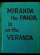 Miranda the Panda is on the Veranda Patricia Highsmith,& Doris Sanders Hardcover