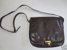 Handtasche Umhängetasche LA ROTONDA SaddleBag Leder braun wie NEU/W24