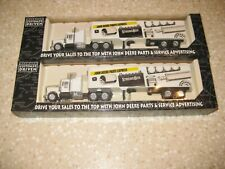 Lot Of 2 John Deere Semi Trucks Nashville Expo 1992 Parts Expo Strong Box 1992