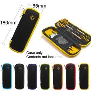 Harrows Blaze Darts Case / Wallet - Small - Pocket Size - Holds Darts Assembled
