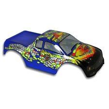 Redcat Racing Truck Body 1/10 Volcano Blue & Green Snake w/ Decal Sheet 88016BG