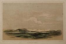 LAGO VAN Gölü TURCHIA - LAKE VAN ARDISCHE Turkey - Litografia Originale 1800