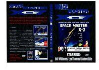 space master x-7 1958. sci Fi Movie Film on DVD publick domain print
