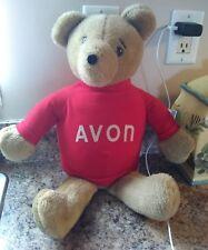 1977 Dealer Only Sales Rep Avon Teddy Bear Dan-Dee Imports Vtg Stuffed Animal