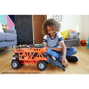 Hot Wheels MONSTER MOVER TRUCK Transport/Store Up to12 1:64 Monster Jam Trucks