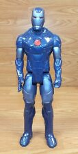 "Marvel Universe Infinite Series 11"" (inch) Blue Ironman Plastic Action Figure"