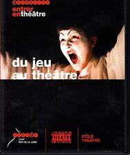 Du Jeu au Theatre Sceren Jean Baune Dany Porche French 2006 PAL DVD