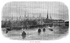 Estland, Eesti, Reval, Tallinn, Original-Holzstich von ca. 1860