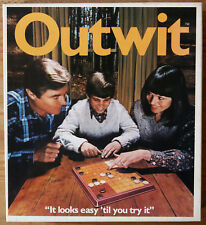 Outwit Vintage Strategy Game - Parker Rare 1978 Version - 100% complete and VGC