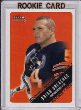 Brian URLACHER ROOKIE CARD 2000 Fleer Tradition RC Football CHICAGO BEARS