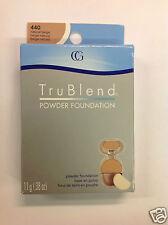 CoverGirl TruBlend Powder Foundation #440 NATURAL BEIGE NEW.