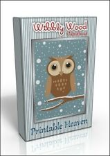 Card-making DVD - Wibbly Wood Christmas, Original design!