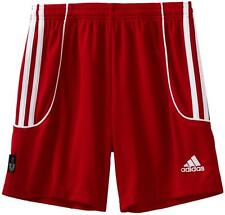 Adidas Ladies Red Squad II Performance Soccer Shorts Uk Size Medium BNWT