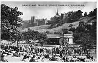 BR99715 bandstand princes street gardens edinburgh scotland