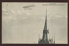 Lausanne Posted Printed Collectable Swiss Postcards