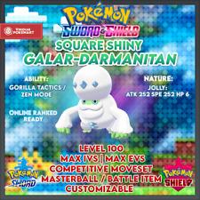 Ultra Shiny Darmanitan | Pokemon Sword & Shield | 6IVS | Level 100 | Competitive