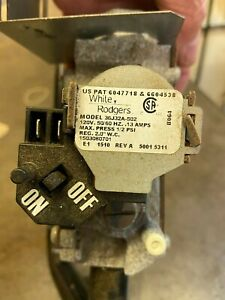 Hayward H100 Gas Valve - Propane - Model 36J32A-502 Worked when removed