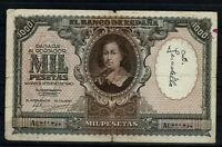 Billete de España 1000 pesetas Bartolome Murillo 1940 A0831894