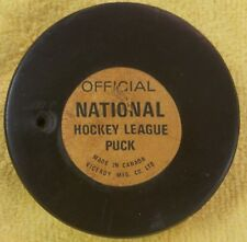 HOLE!! OFFICIAL NATIONAL HOCKEY LEAGUE NHL LEAGUE PUCK VINTAGE VICEROY  CANADA