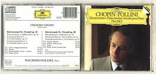 Cd Frederic CHOPIN MAURIZIO POLLINI Piano Sonata No 2 & 3 Deutsche Grammophon