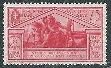 1930 REGNO VIRGILIO 75 CENT MNH ** - CZ20-5