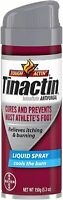 Tinactin Antifungal Liquid Spray for Fungus Treatment, 5.3 oz (Pack of 3)