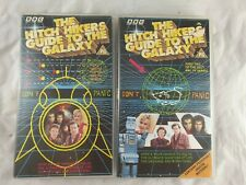The Hitch Hikers Guide to The Galaxy Part 1 & 2 VHS