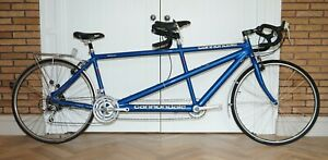 EXCEPTIONAL CANNONDALE RT2000 TANDUM RACING TOURING ROAD BIKE WITH PANNIER ETC
