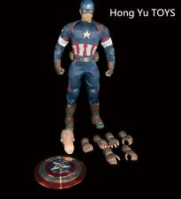 Hong Yu TOYS Captain America Steven Rogers 1/6 Scale Male Soldier Figure Toys
