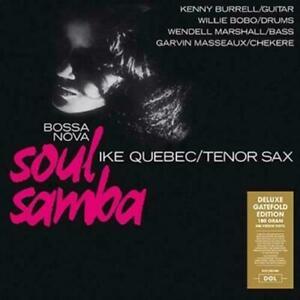 Ike Quebec - Bossa Nova Deluxe Gatefold Edition Vinyl LP DOL1061HG