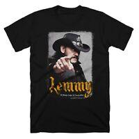 Lemmy Motorhead Rock Metal Men T-shirt