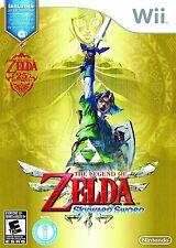 The Legend of Zelda: Skyward Sword - FIRST PRINT w/ Music CD [Nintendo Wii] NEW
