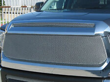 GrillCraft 2014-2018 Toyota Tundra Silver MX-Series Mesh Grille Grill 2PC Set